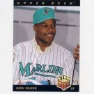 1993 Upper Deck Baseball #009 Nigel Wilson - Florida Marlins