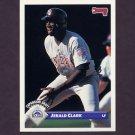 1993 Donruss Baseball #790 Jerald Clark - Colorado Rockies