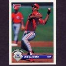 1993 Donruss Baseball #760 Mo Sanford - Colorado Rockies