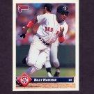 1993 Donruss Baseball #754 Billy Hatcher - Boston Red Sox