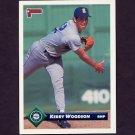 1993 Donruss Baseball #748 Kerry Woodson - Seattle Mariners