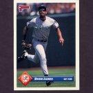 1993 Donruss Baseball #735 Dion James - New York Yankees