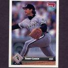 1993 Donruss Baseball #720 Terry Leach - Chicago White Sox