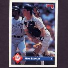 1993 Donruss Baseball #718 Mike Stanley - New York Yankees