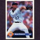 1993 Donruss Baseball #703 Mark Gubicza - Kansas City Royals