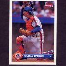 1993 Donruss Baseball #698 Charlie O'Brien - New York Mets