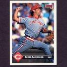 1993 Donruss Baseball #690 Scott Bankhead - Cincinnati Reds