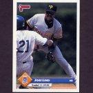 1993 Donruss Baseball #675 Jose Lind - Kansas City Royals