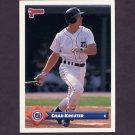 1993 Donruss Baseball #673 Chad Kreuter - Detroit Tigers