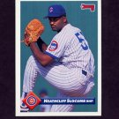 1993 Donruss Baseball #664 Heathcliff Slocumb - Chicago Cubs