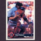 1993 Donruss Baseball #621 Ron Tingley - California Angels