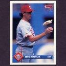 1993 Donruss Baseball #596 Mike Hartley - Philadelphia Phillies