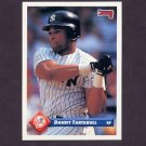 1993 Donruss Baseball #549 Danny Tartabull - New York Yankees