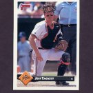 1993 Donruss Baseball #529 Jeff Tackett - Baltimore Orioles