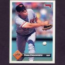1993 Donruss Baseball #513 Todd Frohwirth - Baltimore Orioles