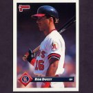 1993 Donruss Baseball #489 Rob Ducey - California Angels