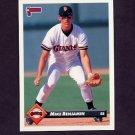 1993 Donruss Baseball #472 Mike Benjamin - San Francisco Giants