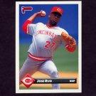 1993 Donruss Baseball #454 Jose Rijo - Cincinnati Reds