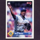 1993 Donruss Baseball #413 Ricky Bones - Milwaukee Brewers