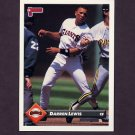 1993 Donruss Baseball #392 Darren Lewis - San Francisco Giants