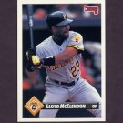 1993 Donruss Baseball #384 Lloyd McClendon - Pittsburgh Pirates