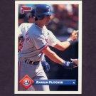1993 Donruss Baseball #378 Darrin Fletcher - Montreal Expos