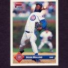 1993 Donruss Baseball #368 Jessie Hollins - Chicago Cubs