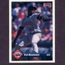 1993 Donruss Baseball #357 Pat Mahomes - Minnesota Twins