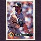 1993 Donruss Baseball #347 Vince Horsman - Oakland A's