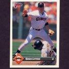 1993 Donruss Baseball #340 Greg Litton - San Francisco Giants