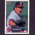1993 Donruss Baseball #299 Tim Fortugno - California Angels