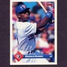 1993 Donruss Baseball #291 Donald Harris - Texas Rangers