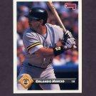 1993 Donruss Baseball #282 Orlando Merced - Pittsburgh Pirates
