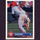 1993 Donruss Baseball #280 Stan Javier - Philadelphia Phillies
