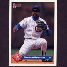 1993 Donruss Baseball #268 Shawon Dunston - Chicago Cubs