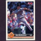 1993 Donruss Baseball #249 Ben McDonald - Baltimore Orioles