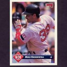 1993 Donruss Baseball #223 Mike Greenwell - Boston Red Sox