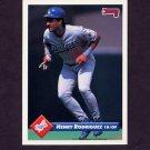 1993 Donruss Baseball #218 Henry Rodriguez - Los Angeles Dodgers