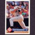 1993 Donruss Baseball #213 Andy Stankiewicz - New York Yankees