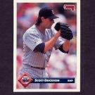 1993 Donruss Baseball #211 Scott Erickson - Minnesota Twins