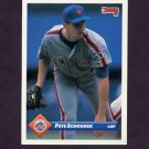 1993 Donruss Baseball #198 Pete Schourek - New York Mets