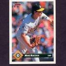 1993 Donruss Baseball #183 Mike Raczka - Oakland A's