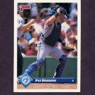 1993 Donruss Baseball #115 Pat Borders - Toronto Blue Jays