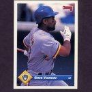 1993 Donruss Baseball #103 Greg Vaughn - Milwaukee Brewers