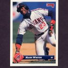1993 Donruss Baseball #097 Mark Whiten - Cleveland Indians