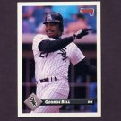 1993 Donruss Baseball #095 George Bell - Chicago White Sox