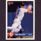 1993 Donruss Baseball #081 Mike Gallego - New York Yankees
