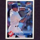 1993 Donruss Baseball #056 Billy Ashley - Los Angeles Dodgers