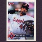 1993 Donruss Baseball #005 Julio Valera - California Angels