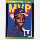 1989 Donruss Baseball Bonus MVP's #BC24 Gerald Perry - Atlanta Braves